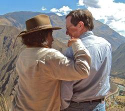 Don Americo and Oakley Gordon in Peru