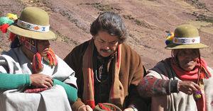 Don Americo Yabar and Q'ero Paqos