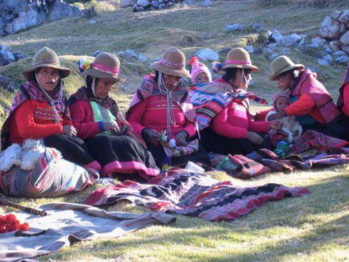 Women of Qero