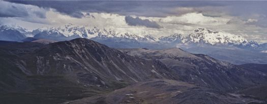 View of Asungate Range