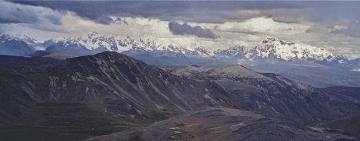 View of Asungate Range